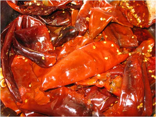 Dried Barker Chiles