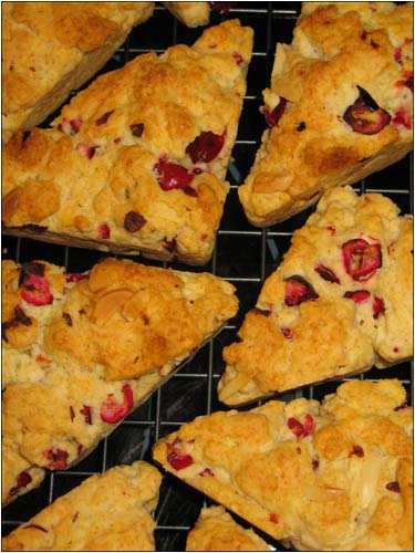 Cranberry-Almond Scones