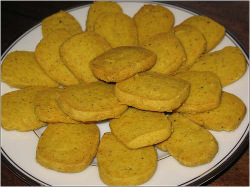 Curried Shortbreads