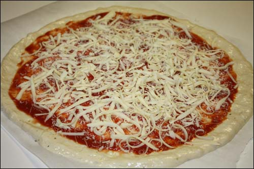 Pizza Princess Dough with Cheese Added
