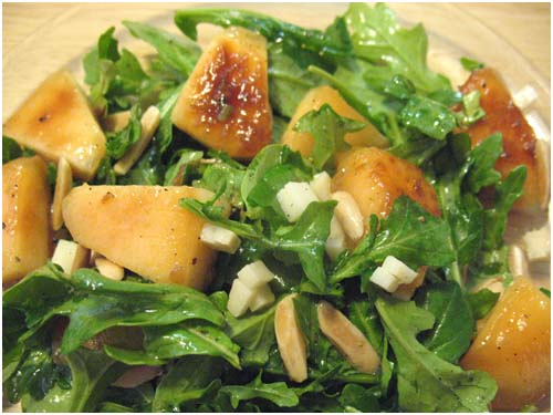 Caramelized Melon Salad