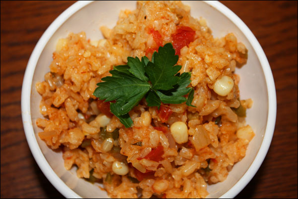 New Mexican Rice by Cynthia Wenslow