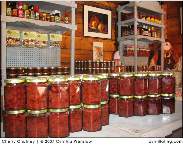 Cherry Chutney by Cynthia Wenslow