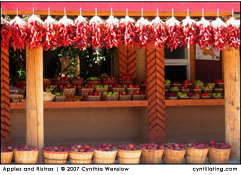 Apples and Ristras